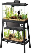 Aqueon Forge View On The 20 Gallon Aquarium Stand